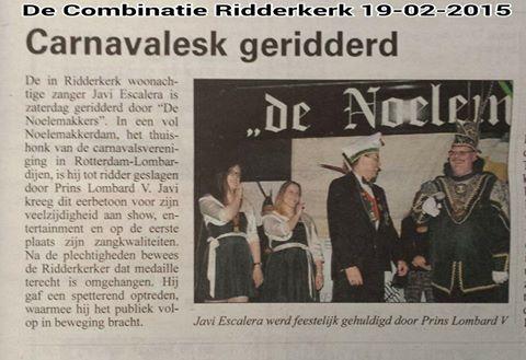 De Combinatie Ridderkerk 19-2-2015